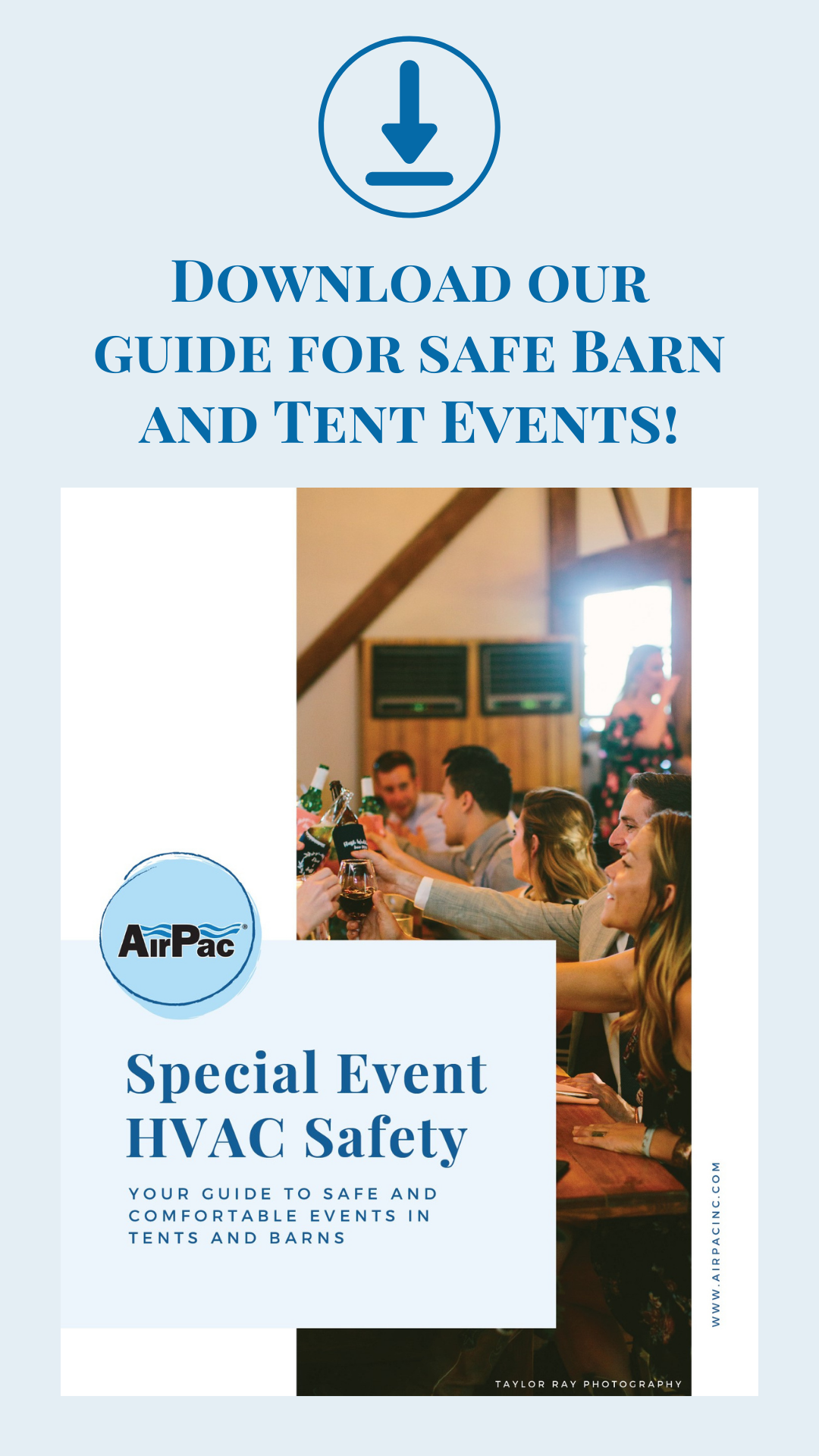 Download our guide for safe Barn and Tent Events!